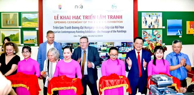 越南芹苴市与匈牙利促进教育领域中的合作 hinh anh 2