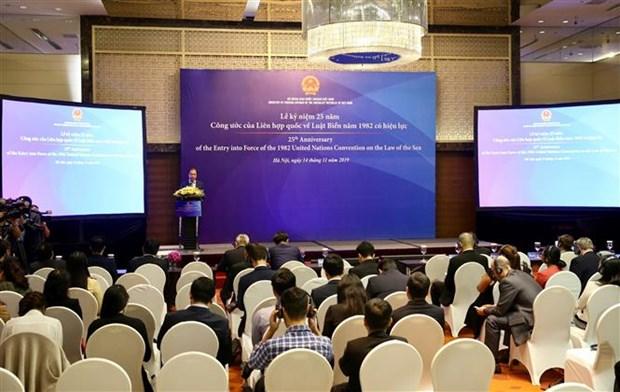 《联合国海洋法公约》生效25周年纪念活动在河内举行 hinh anh 1