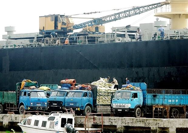 前10月越南大米出口量增长但出口额下降 hinh anh 1