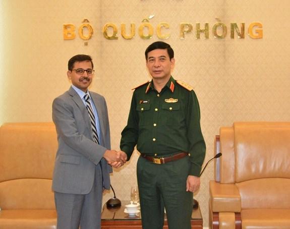 防务合作被视为越南与印度关系中的重要支柱 hinh anh 2