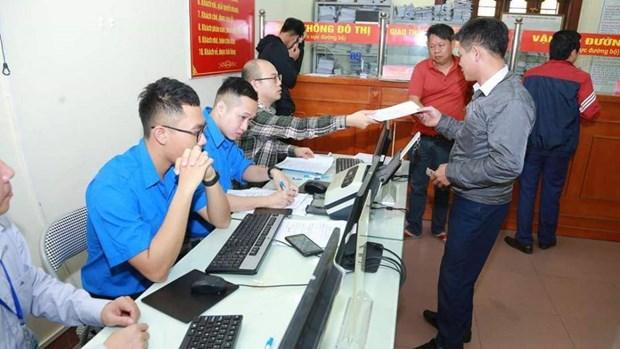国际游客可通过线上河内行政服务软件换取驾照 hinh anh 1