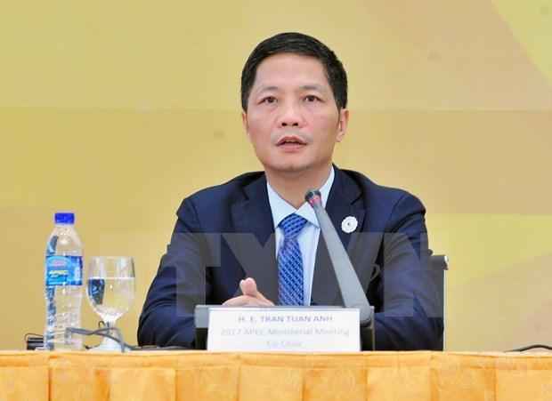 越南工贸部长:EVFTA在越南一体化进程中扮演着举足轻重的角色 hinh anh 1