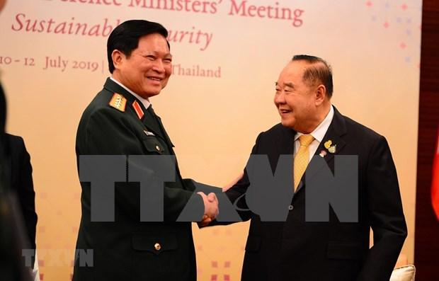 吴春历出席东盟防长非正式会议和第六届东盟防长扩大会议 hinh anh 1