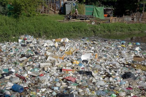柬埔寨即将禁止一次性塑料制品的使用 hinh anh 1