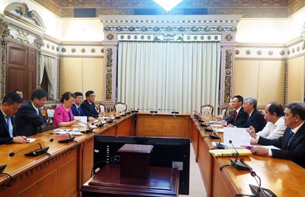 胡志明市与中国云南省加强旅游合作 hinh anh 2