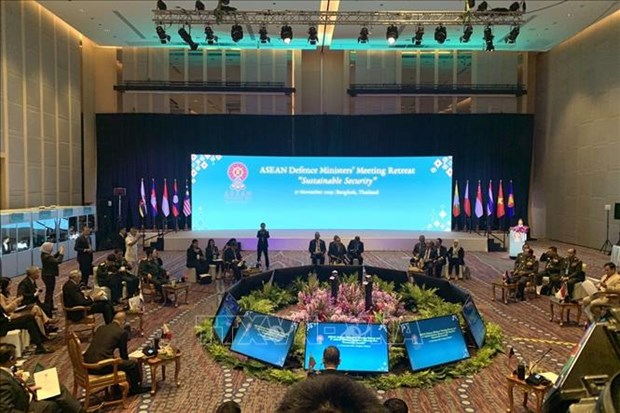 ADMM 2019:越南国防部长呼吁东盟继续加强内部团结协作 hinh anh 1