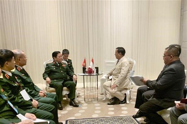 越南国防部长吴春历会见泰国副总理和印尼防长 hinh anh 2