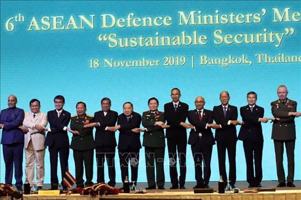东盟防长扩大会议:尊重国际法保障地区和平稳定 hinh anh 1