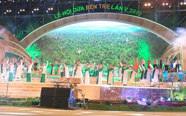 2019年第五届槟椥椰子节:椰子树迈上融入与可持续发展之路 hinh anh 1