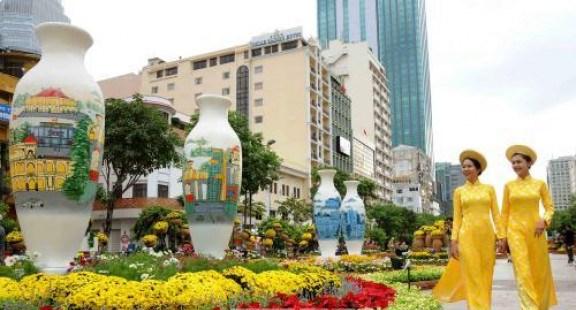 富有民族传统文化特色的2020年迎春活动1月初亮相胡志明市 hinh anh 1