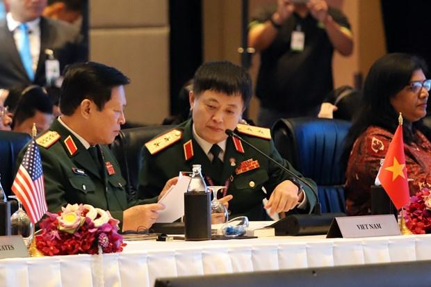 东盟防长扩大会议集中讨论七大安全合作主题 hinh anh 1