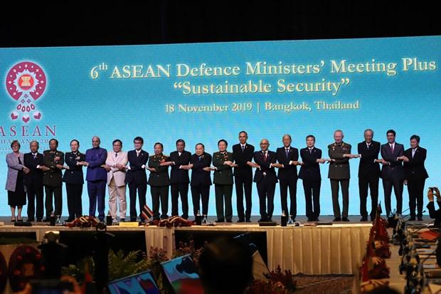 东盟防长扩大会议集中讨论七大安全合作主题 hinh anh 2