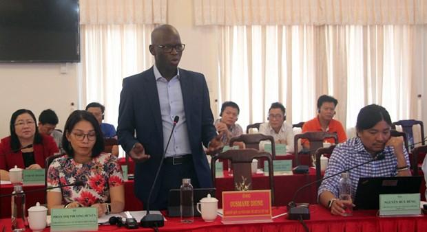 越南富安省与世行合作会议在富安省举行 hinh anh 2