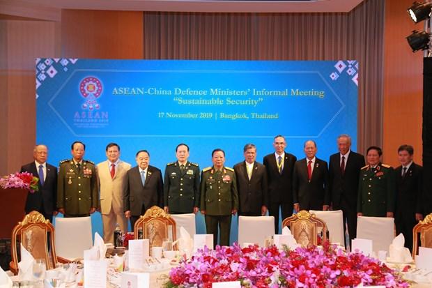 东盟与伙伴国加强防务合作 hinh anh 1