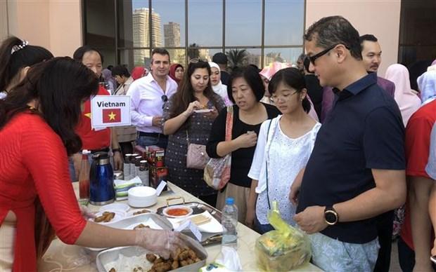 越南积极参加在埃及举行的2019年度慈善义卖 hinh anh 1