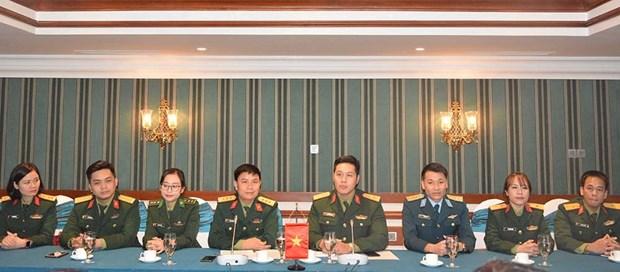 越南与菲律宾青年军官交流活动在河内举行 hinh anh 2