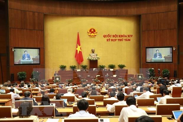 第十四届国会第八次会议:就三部法律草案提出意见 hinh anh 1