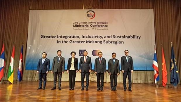 越南出席第23届GMS部长会议 hinh anh 1