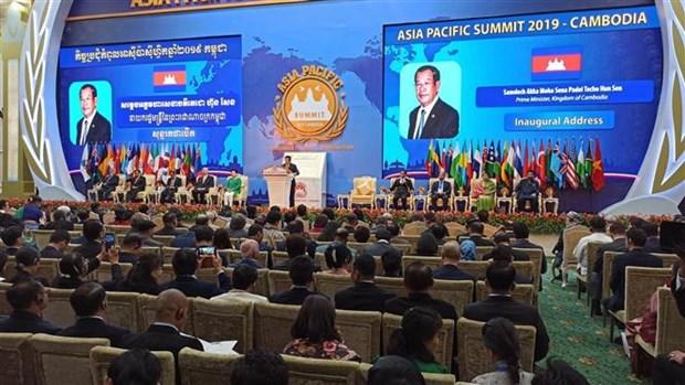 越南驻柬埔寨大使武光明出席2019年亚太首脑会晤 hinh anh 2