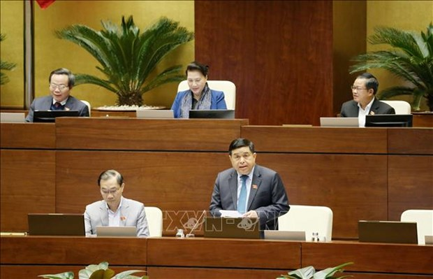 越南第十四届国会第八次会议公报(第二十二号) hinh anh 1