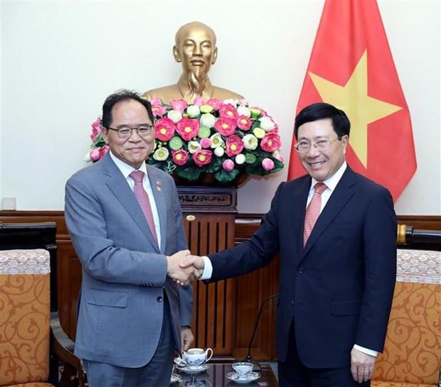 越南希望韩国关注维护越南公民的正当权益 hinh anh 1