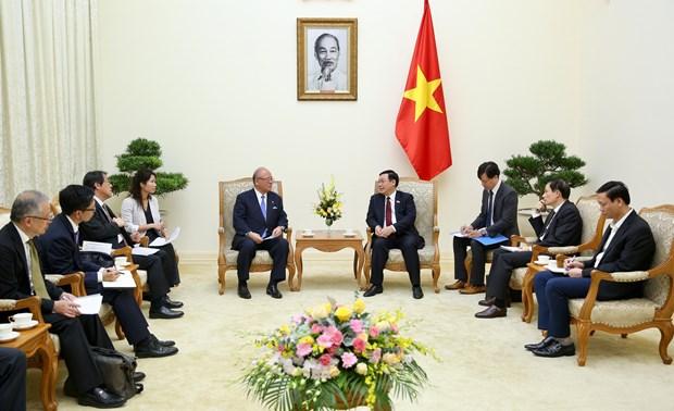 越南全力以赴推动越日纵深战略伙伴关系在更高层次上持续向前发展 hinh anh 2