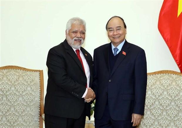 越南政府总理阮春福会见委内瑞拉驻越大使 hinh anh 1