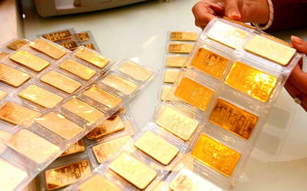 11月20日越南国内黄金价格继续上涨 hinh anh 1