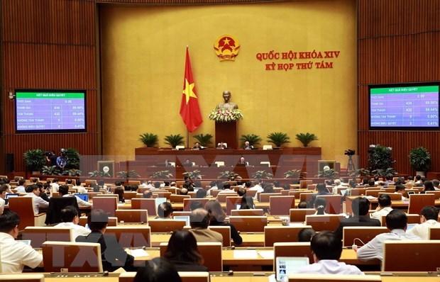 越南第十四届国会第八次会议:对《劳动法(修正案)》 进行表决 hinh anh 1