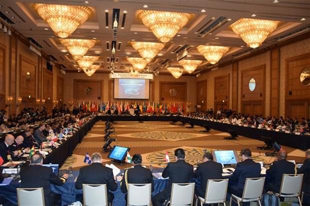 越南参加第二届世界海上保安部门首长级会议 hinh anh 1