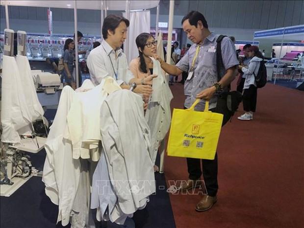 关于纺织与皮革工业产业的展览会在胡志明市开幕 hinh anh 2