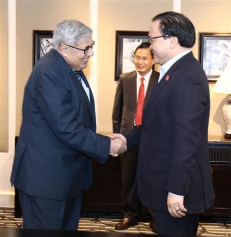 越南共产党与法国共产党加强合作 hinh anh 1