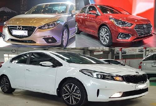 2019年前10月越南对各国市场的汽车进口量均激增 hinh anh 1