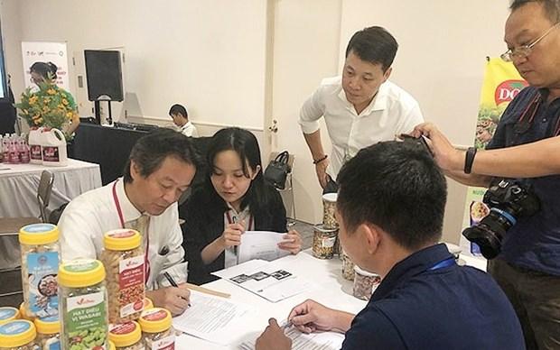 越南寻找措施将农产品接近永旺系统 hinh anh 1