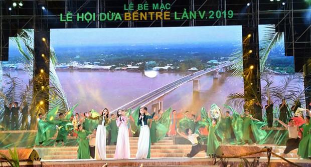 第五届槟椥椰子节吸引20万人次参加 hinh anh 1