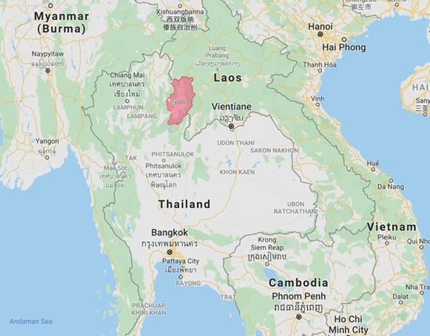 老挝和泰国发生6.0级地震 尚未有人员伤亡和财产损失的报告 hinh anh 1