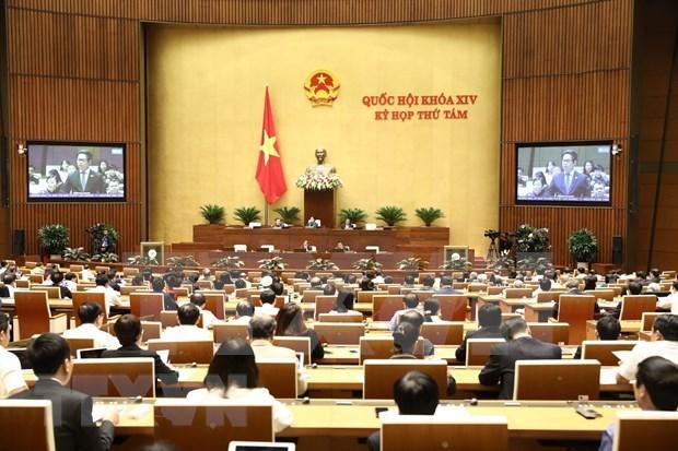 越南第十四届国会第八次会议:讨论两部法案 hinh anh 1
