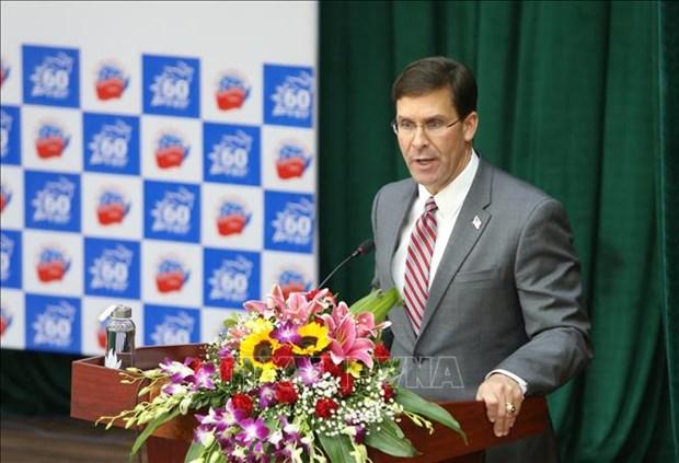 美国国防部长:支持各国在专属经济区开发资源的权利 hinh anh 2