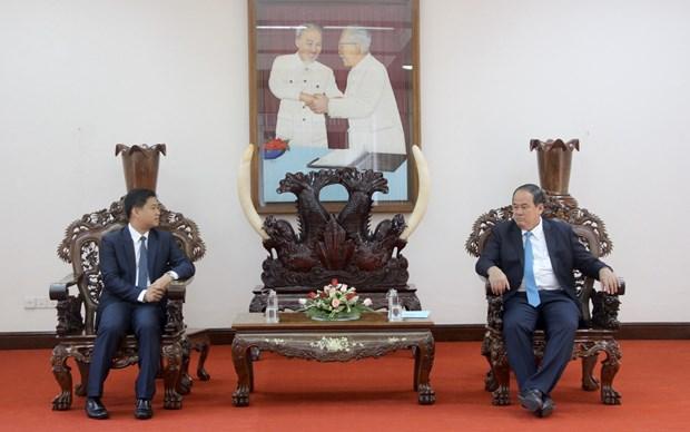 越柬致力于共建和平、友谊、合作与发展的边界线 hinh anh 1