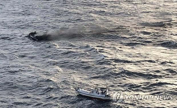 越南将继续同韩国配合搜寻6名失踪渔民 hinh anh 1