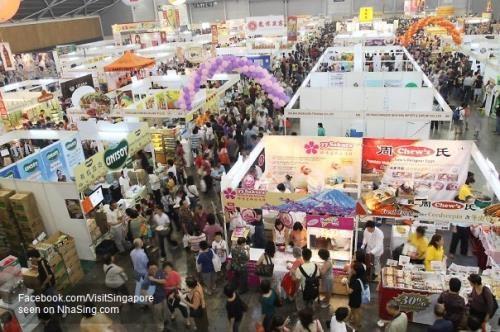 越南企业参加在新加坡举行的2019年亚太国际食品展 hinh anh 1