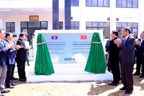 越南协助老挝推进教育基础设施建设 hinh anh 1