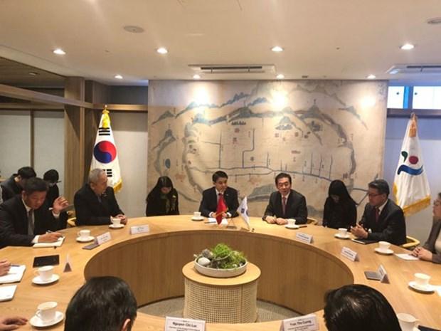 加强河内与韩国首尔的投资对接 hinh anh 1