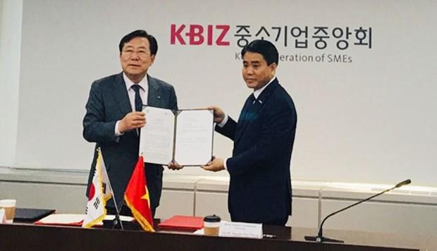 加强河内与韩国首尔的投资对接 hinh anh 2