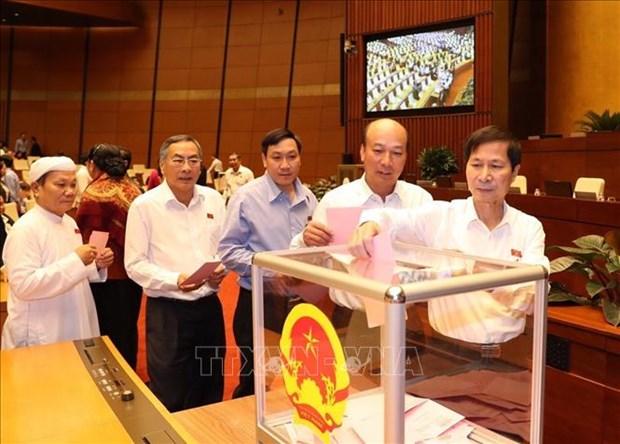 越南第十四届国会第八次会议通过三部法律 hinh anh 1