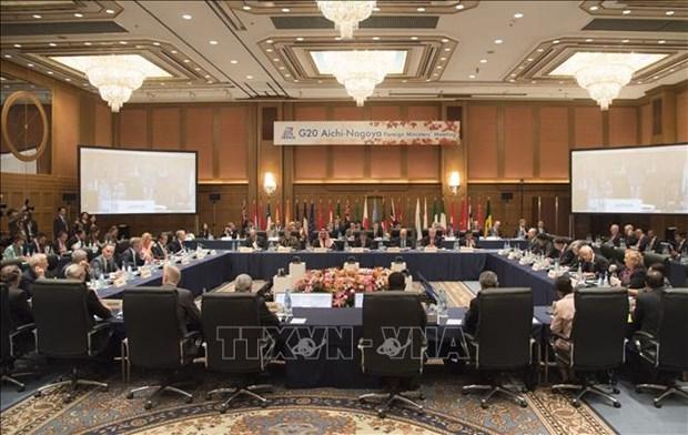 二十国集团外长会议:越南呼吁继续支持多边主义 hinh anh 1