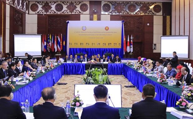 东盟与中日韩促进社会福利与发展领域合作 hinh anh 2