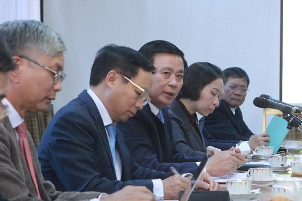 胡志明国家政治学院代表团对俄罗斯进行工作访问 hinh anh 2