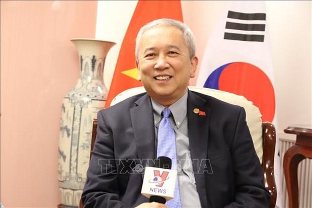 阮武秀大使:越韩关系呈现全面、强劲发展势头 hinh anh 1