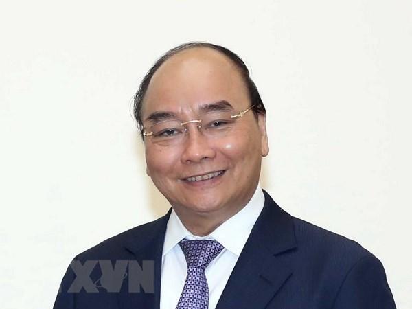 越南政府总理阮春福启程出席东盟-韩国对话关系30周年纪念峰会 hinh anh 1